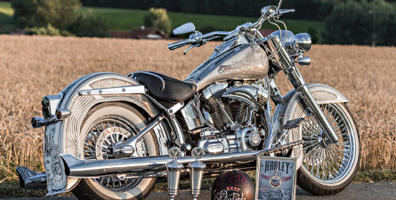 The rise of the mexican - Harley-Davidson Softail Deluxe 2014