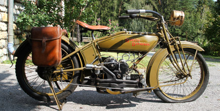 Harley-Davidson W Sports Twin 1919