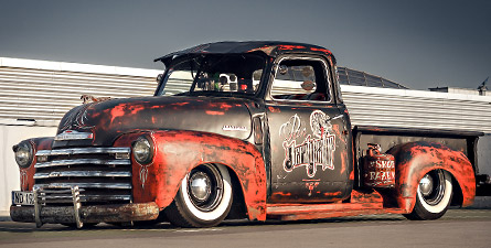 Mr. Ratkiller - Chevrolet 3100 Pickup 1949