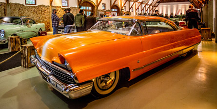 Lincoln Premiere Dreamsicle - 1956